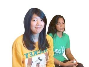 Gao Husa Yuan and Marcy Dayawan