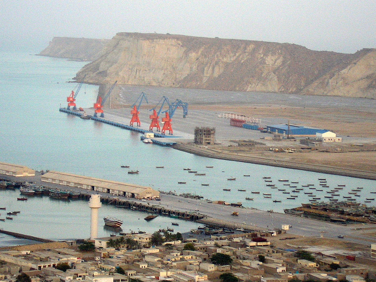 Gwadar Port of Pakistan - pic by commons.wikimedia.org