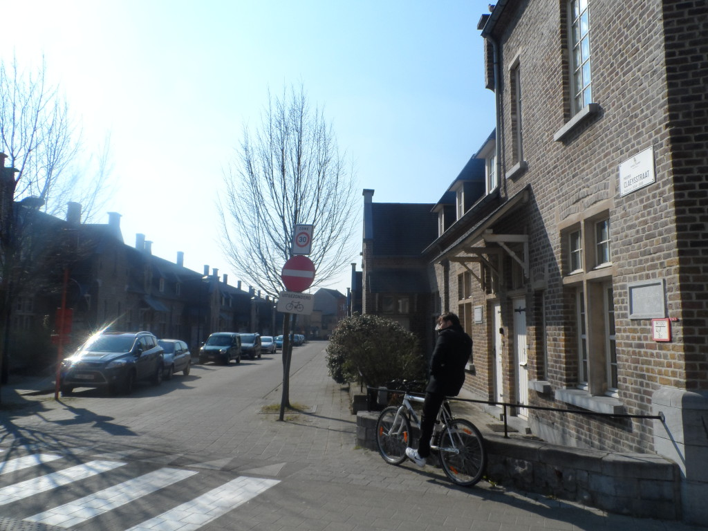 Prosper Claeysstraat bij Koning Albertlaan