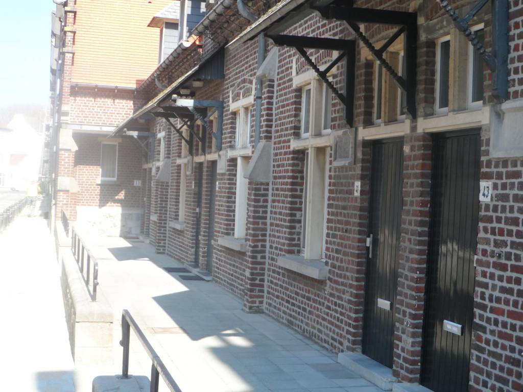 Slinke molenstraat, Brugse Poort