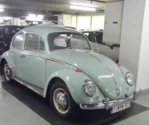 VW kever 1965 - buiten Gent gespot