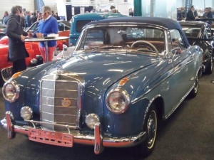 Mercedes 220 1955 - Flanders Expo Sint-Denijs-Westrem