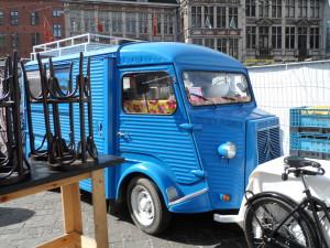 Citroën HY op 'Barrio Cantina' Korenmarkt