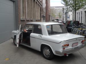 Lancia Fulvia 1968 - Gildestraat - Sint-Jacobsnieuwstraat-