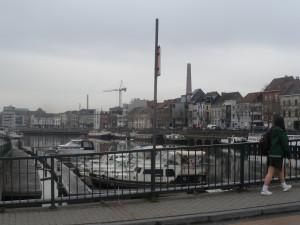 Porthus Ganda - vanaf de brug Jules de Vigne