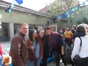 Rudi, Isabel, Sarah, Nourit