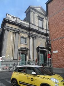 Savaanstraat - zicht vanuit Pollepelstraat - Sint-Barbara