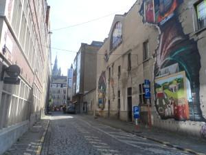 Van Stopenberghestraat - bij Predikherenlei-