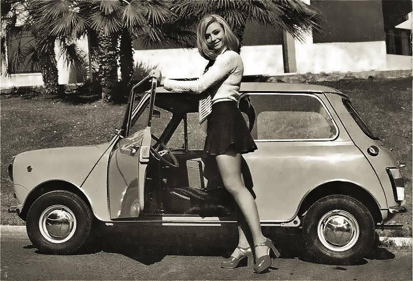 Ook dat was de jaren 60 - Mini Cooper - pic Marcel Vanderhaeghen