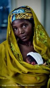 Newborn in Nigeria