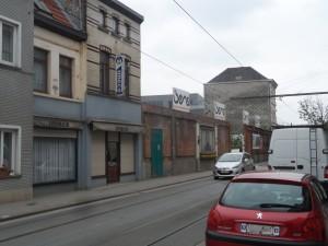Sint-Salvatorstraat - zicht Dok Noord