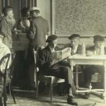 Studentikoze omgeving in 1918 - pic Gent; Een geschiedenis van universiteit en stad