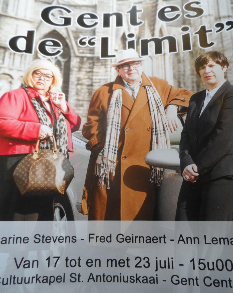 Gent es de 'Limit' - in Cultuurkapel Sint-Antoniuskaai