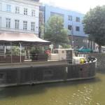 Parijsberg - zicht op Muinkkaai en Le Bateau