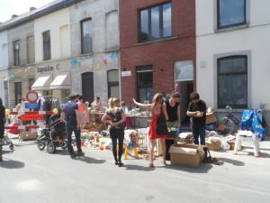 Rommelmarkt Uilkensstraat in 2015