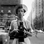 Vivian Maier self portrait - pic by vivianmaier.com