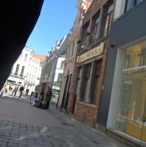 Zakman - hier in de Koestraat