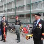 Zuid - Woodrow Wilsonplein -start viering NSB