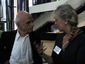 Dr Ervin Laszlo and late Marleen Depreitere