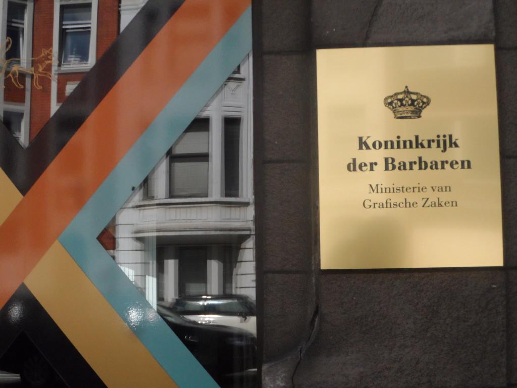 Krijgslaan - Koninkrijk der Barbaren - Ministerie Grafische Zaken
