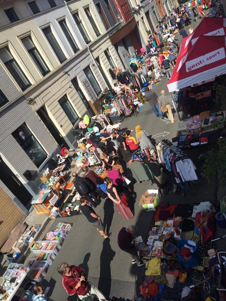 Rommelmarkt Snoekstraat en omliggende - pic Nourit Vandenbussche