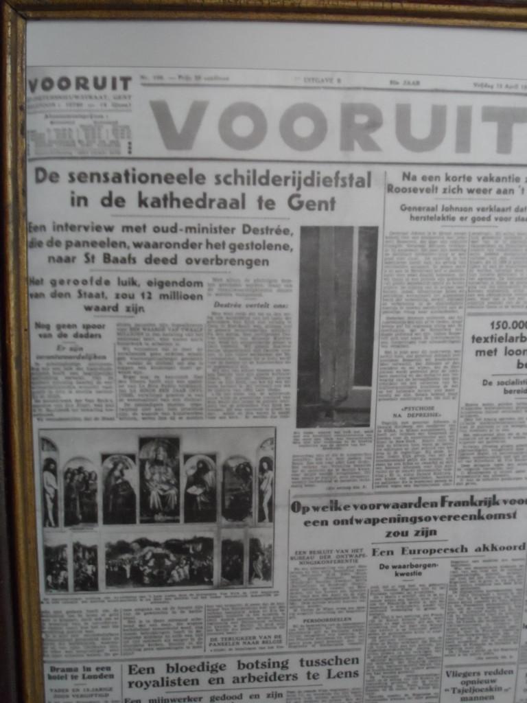 Dagblad Vooruit over Rechtvaardige Rechters in 1934