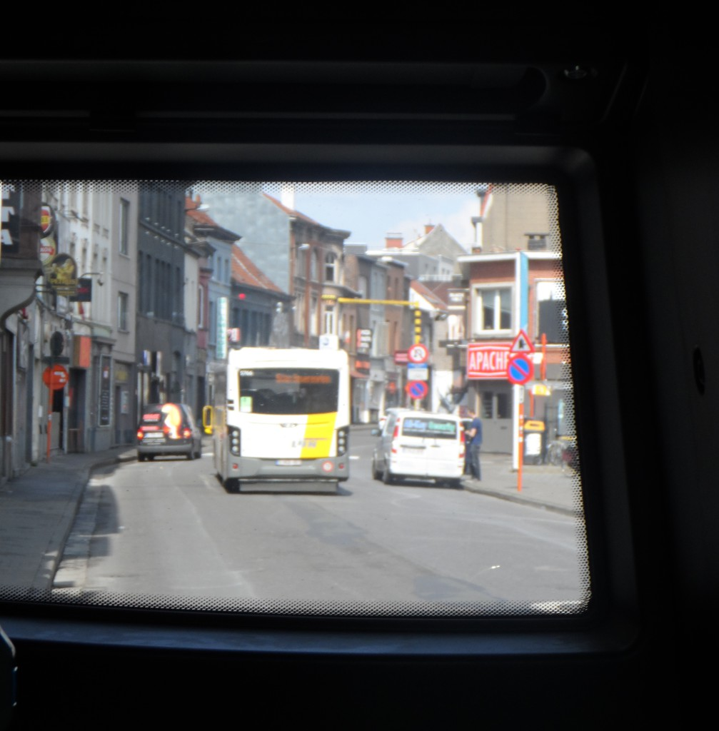Overpoortstraat - busview