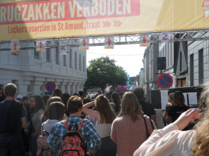 1 Sint-Pietersplein - student kick-off 2016