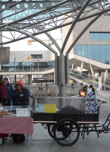 Gentse Neuzen aan het station