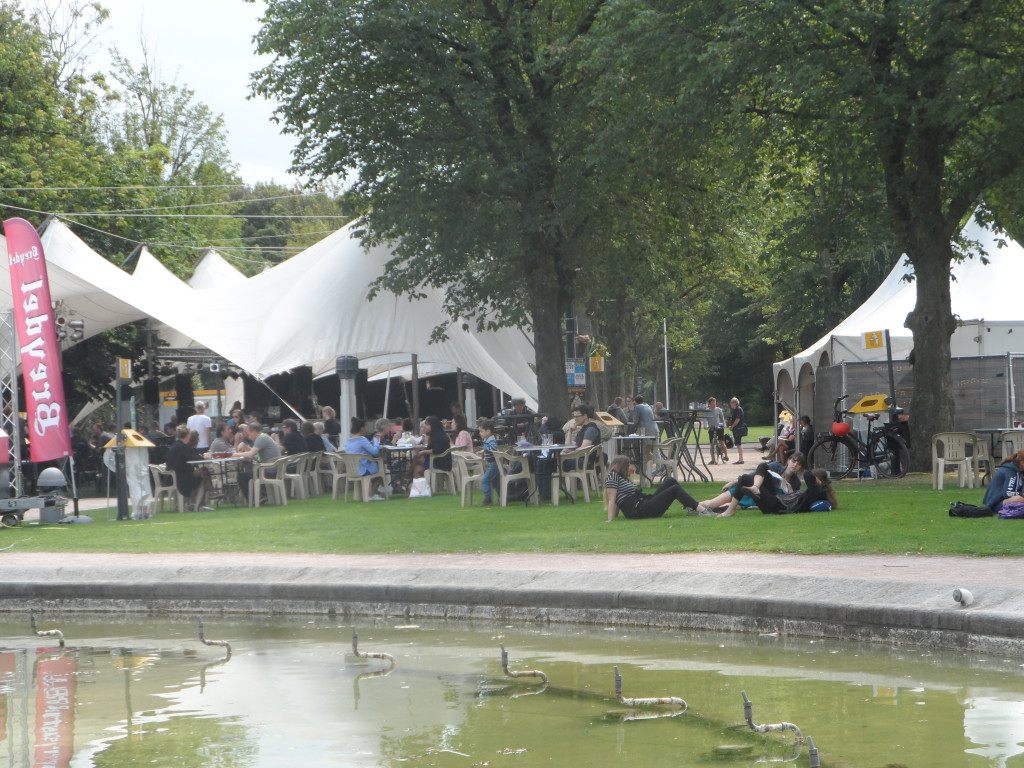 Koning Albertpark of Zuidpark - Jazz in t park