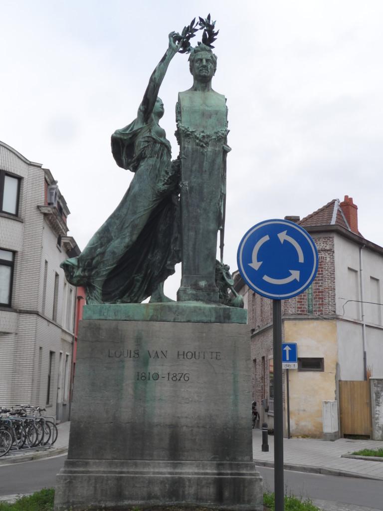 Louis Van Houttestraat Gentbrugge - de facto pleintje