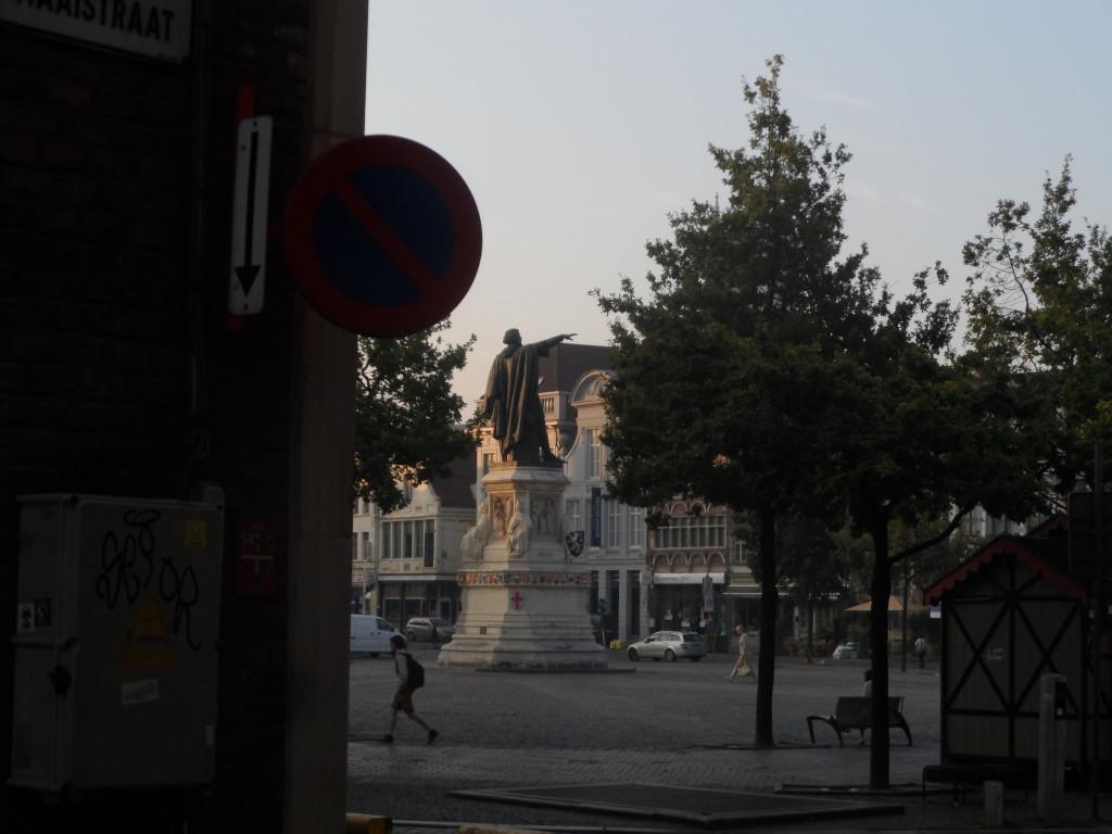 Vrijdagmarkt - Jacob Van Artevelde standbeeld