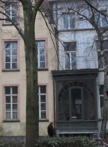 Sluizekenkaai - achterkant van Drongenhof