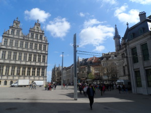 Emile Braunplein - Stadhuis - renaissancevleugel