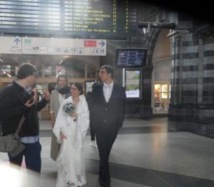 Gent-Sint-Pieters - bruidspaar