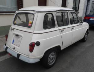 Renault 4 - Valkeniersstraat