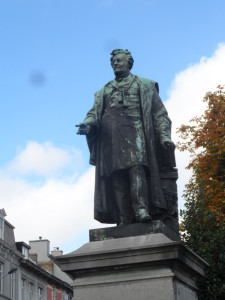 Begijnhoflaan - standbeeld Ghislain