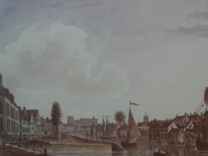 Sint-Agnetebrug - zicht achterkant Kortrijksepoortstraat