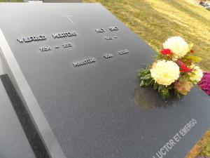 Campo Santo - Tombe van Wilfried Martens