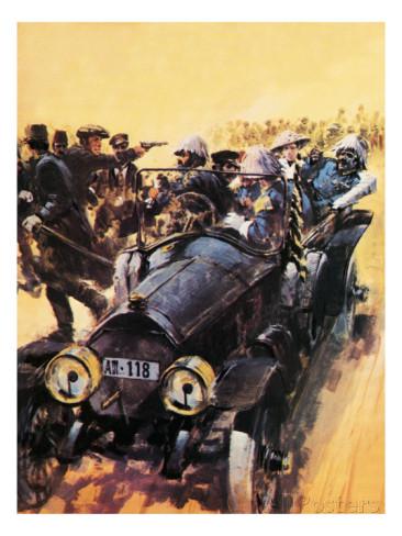 Assassination of Archduke Franz-Ferdinand - pic Graham Coton