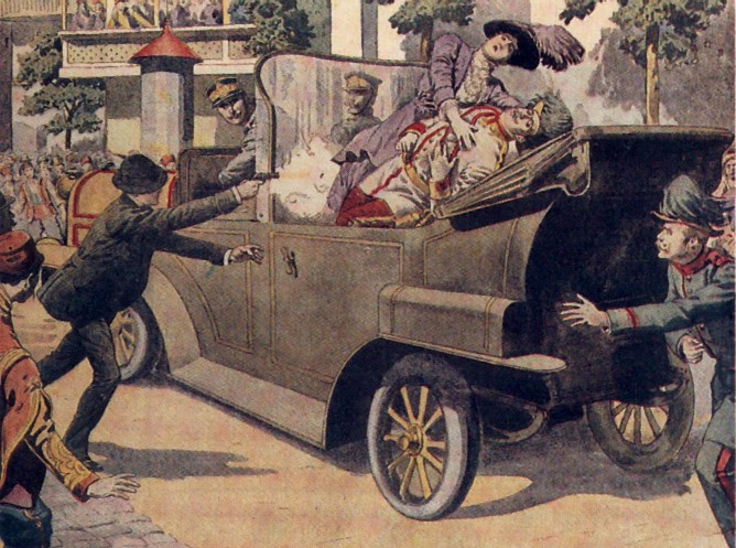 Sarajevo murder - pic Smithsonian Magazine