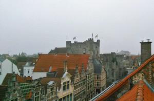 00 Burgstraat - zicht op Gravensteen - pic Arne Depreitere-