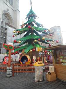 Sint-Baafsplein - kerstboommolen