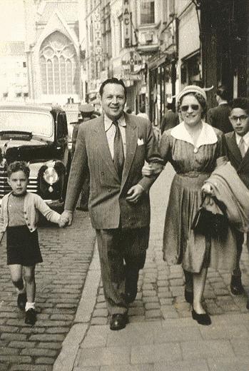 Veldstraat - kort na de oorlog - pic gentblogt.be