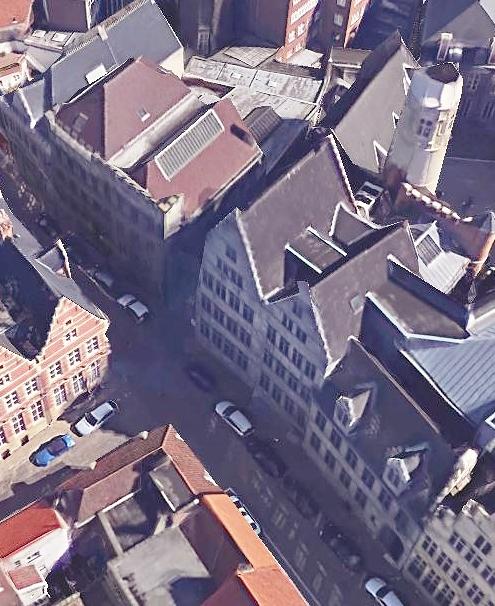 Nederpolder-Hoogpoort - Kleine grote en achtersikkel - pic Google Earth