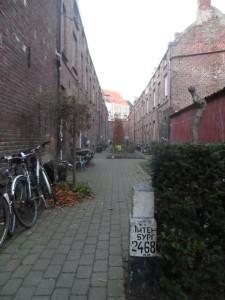 2 Kartuizerlaan - steegje zonder straatnaambord (2)