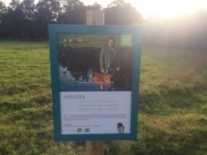 Luc De Vos plekje - Scheldeoever richting Gentbrugse Meersen - pic Noutie