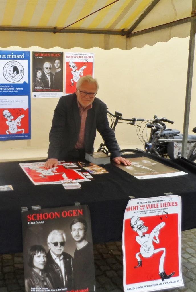 Bob De Moor - hier op de Artiestenmarkt 2016