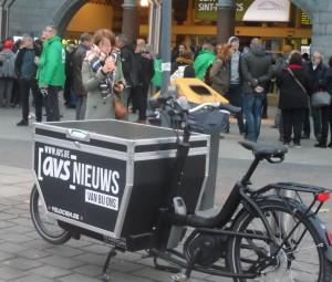 Maria Hendrikaplein - betoging
