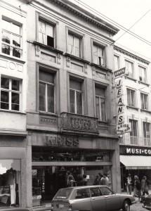 Veldstraat nr 73 - hoek Conduitsteeg - 1976 - pic inventaris.onroerenderfgoed.be